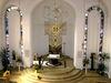 Altarbereich in der Kapelle von Kloster Strahlfeld bei Roding