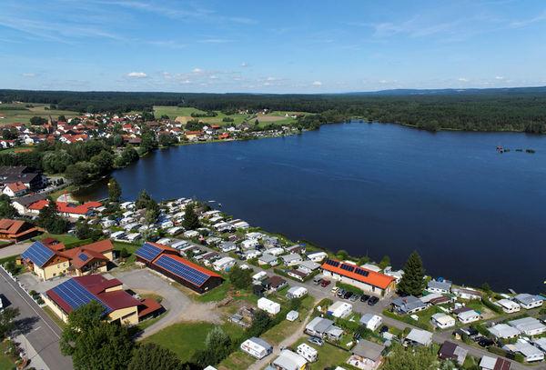 Luftaufnahme Neubäuer See