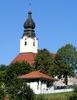 Blick auf die Röhrnbacher Pfarrkirche St. Michael im Bayerischen Wald