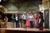 Szene aus einem Theaterstück der Klausner Bühne Röhrnbach