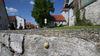 Blick auf St. Georgskirche Donnstetten