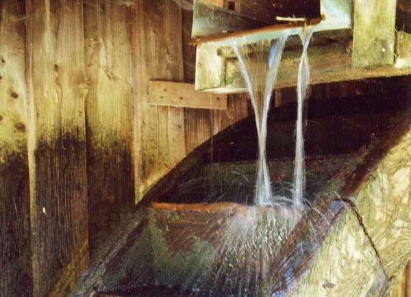 Wasserrad im Oberpfälzer Handwerksmuseum Rötz-Hillstett