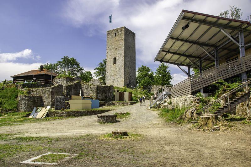 Burgruine Schwarzenburg bei Rötz