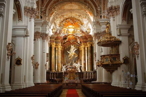 Barocke Asamkirche Kloster Rohr