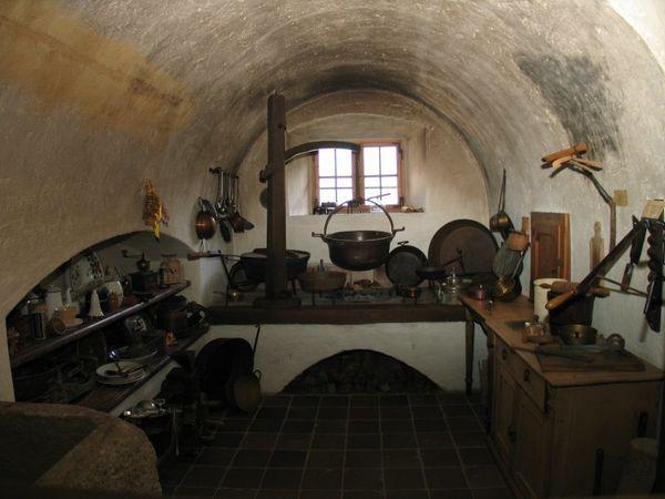 Auch die Küche gibt einen guten Einblick in das frühere bäuerliche Leben.