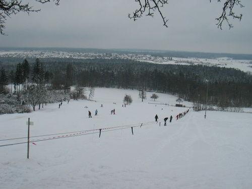 Skilift Hohenberg