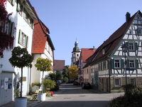 Historische Altstadt mit Stadtmauer, Rosenfeld