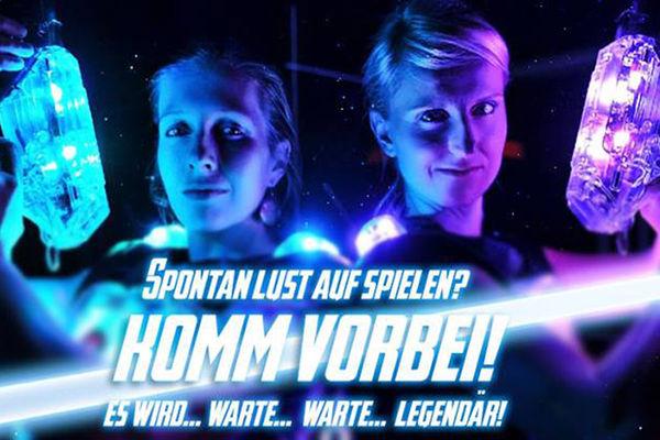 Lasertag Rosenheim Plakat