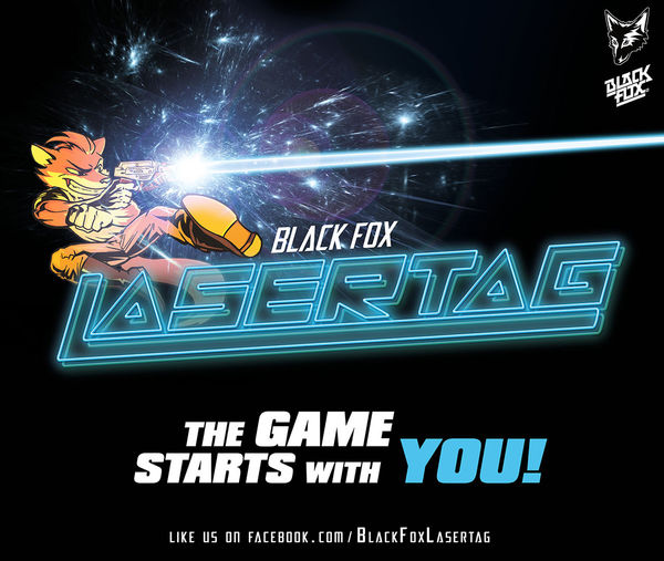 Black Fox Lasertag - The Game starts with you!