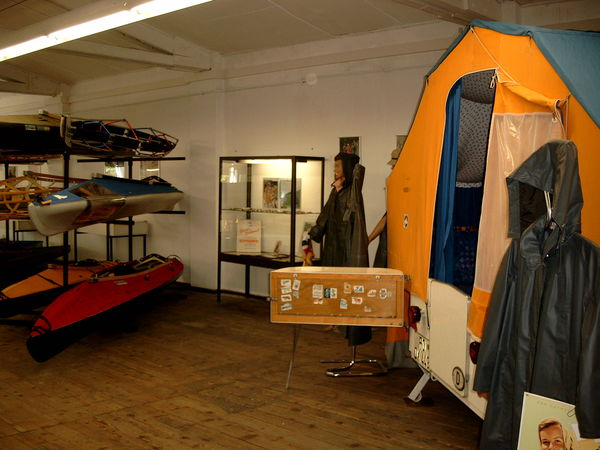 Austellungsraum im Kleppermuseum