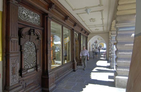 Laubengänge in Rosenheim