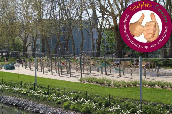 Spielplatz im Mangfallpark