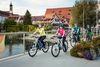 Fahrradfahren entlang des Neckars in Rottenburg