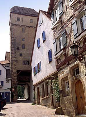 Kalkweiler Tor in Rottenburg am Neckar