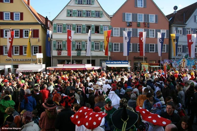 Fasnacht in Rottenburg am Neckar