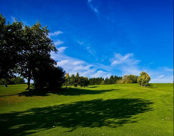 Golfplatz der Golfanlage Holledau in Rudelzhausen