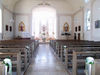Innenansicht der Pfarrkirche ST. JOSEF in Ruderting im südlichen Bayerischen Wald