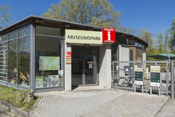 Touristinfo im Museumspark Rüdersdorf, Foto: TMB-Fotoarchiv/Steffen Lehmann