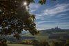 Blick auf das Bergdorf Kallenhardt.
