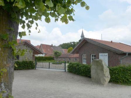Historisches Handwerkerdorf an der Stadtmauer