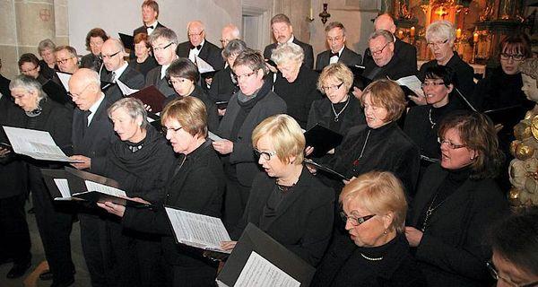 Kammerchor Rüthen beim Konzert