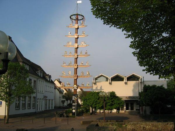 Zunftbaum vor dem Rathaus