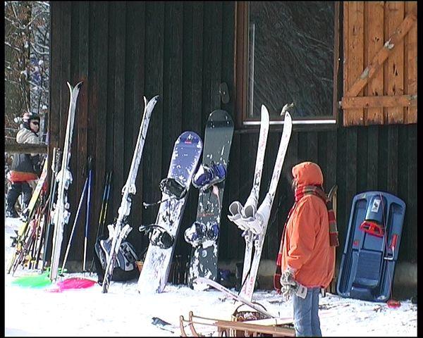 An der Skihütte in Kallenhardt