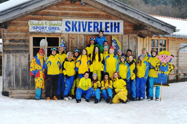 Team der Skischule Sport Greil