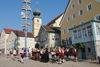 Standkonzert beim Volksfest in Ruhmannsfelden im Teisnachtal