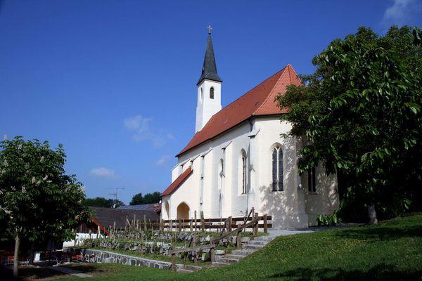 Siebenschläferkirche Rotthof Außenansicht