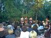 Auftritt der Wellküren im Biergarten der Liederbühne Robinson