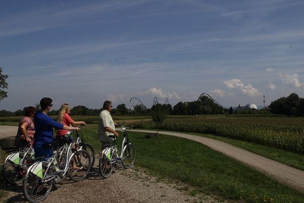 Mit dem E-Bike unterwegs