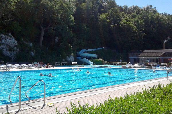 Felsenbad in Saal a. d. Donau