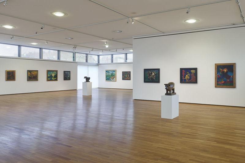 Moderne Wohnzimmerwande Galerie : Saarlandmuseum moderne galerie tourismus zentrale