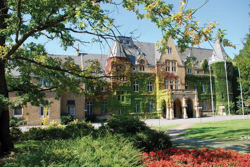 Schloss Halberg Vorderansicht