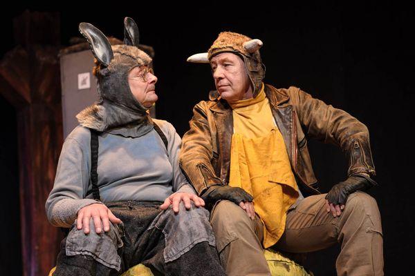 Ox & Esel im Theater Überzwerg