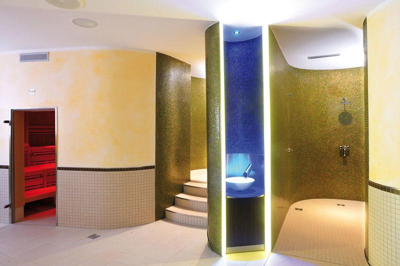 Saunabereich im Aqualouis