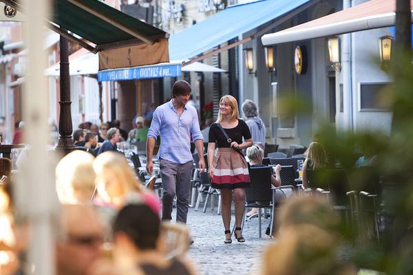 Spaziergang durch die Altstadt von Saarlouis