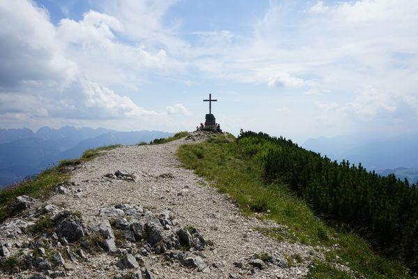 Gipfelkreuz Geigelstein