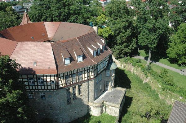 Wasserschloss von oben