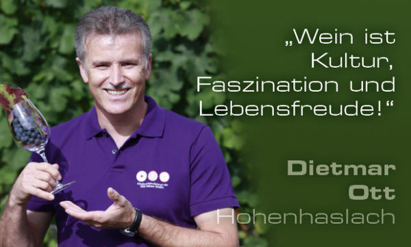 Weinerlebnisführer Dietmar Ott