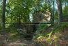 Blick auf die Burgruine Dießenstein bei Saldenburg im Bayerischen Wald