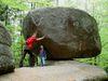 Imposantes Naturdenkmal Wackelstein im Ilztal und Dreiburgenland