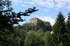 Blick zur Ritterfeste Saldenburg im Ilztal und Dreiburgenland