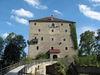 Brücke zur Ritterfeste Saldenburg im Ilztal und Dreiburgenland