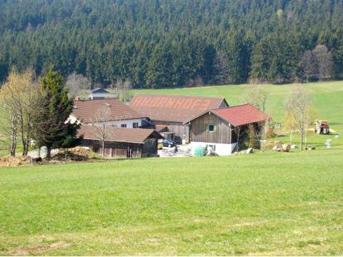 Blick auf den Ahornhof in Ahornwies bei St. Englmar