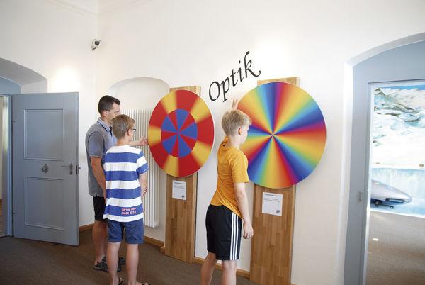 Optische Wahrnehmung im Bayerwald Xperium St. Englmar