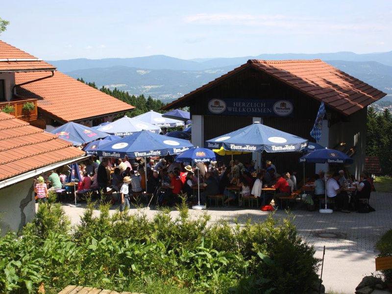Pröller-Bergfest beim Bergasthof Hinterwies in der Urlaubsregion St. Englmar