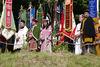 Die Darsteller des Englmari-Suchens an Pfingsten in Sankt Englmar