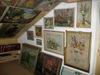 Gemäldeausstellung in der Galerie Hirsch in St. Englmar